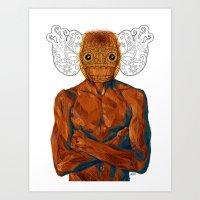demon Art Prints featuring Demon by Rofi