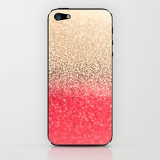 GOLD CORAL iPhone & iPod Skin