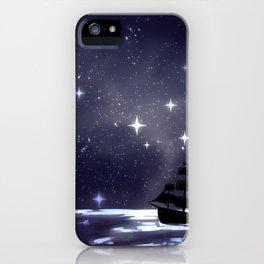Sailing Stars iPhone Case