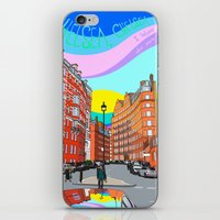 chelsea iPhone & iPod Skins featuring Chelsea by Emanuele Taglieri
