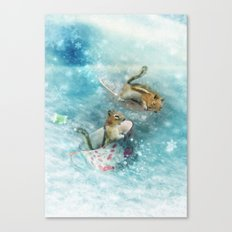 Teacup Racers Canvas Print