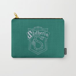 Slytherin Inspired Crest Carry-All Pouch