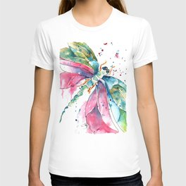 Vibrant Dragonfly T-shirt
