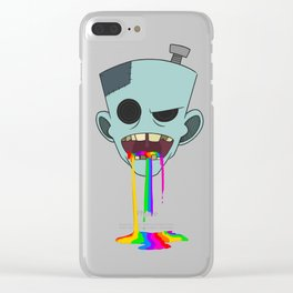 ZOMBIES Clear iPhone Case