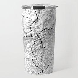 Minimal City Maps - Map Of Birmingham, Alabama, United States Travel Mug
