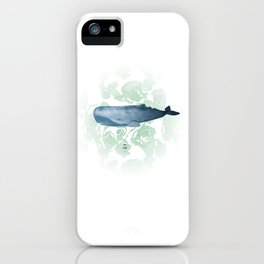 Champion breath holder of the ocean iPhone Case