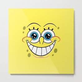 spongebobby Metal Print