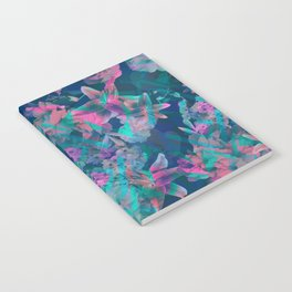 Geometric Floral Notebook