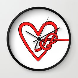knot in love Wall Clock