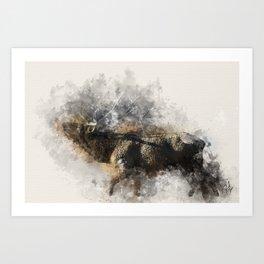 Morning Breath Art Print