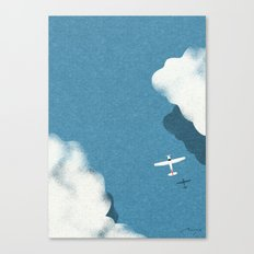 Over the sea Canvas Print