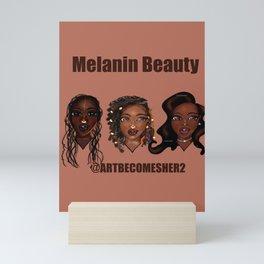 Melanin Beauty Mini Art Print