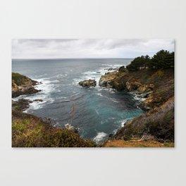 California Coastline Canvas Print