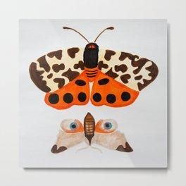 Tiger Moth Metal Print