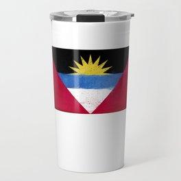 Antigua and Barbuda Flag design   Antiguans Barbudans design Travel Mug
