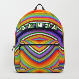 Rainbow Ganja Backpack