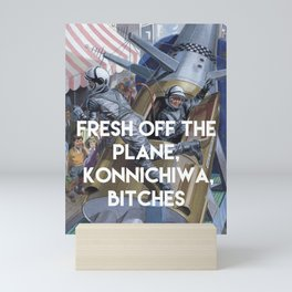 KONNICHIWA! Mini Art Print