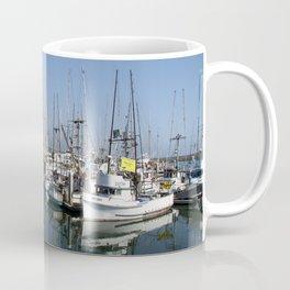 Harbor At Half Moon Bay Coffee Mug