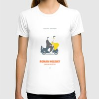 roman T-shirts featuring Roman Holiday by Smile In The Mind