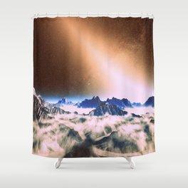 Let There Be Light : Exozodiacal Light on Alien Planet Shower Curtain