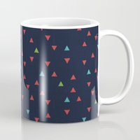 snowboarding Mugs featuring TRY ANGLES / snowboarding by DANIEL COULMANN