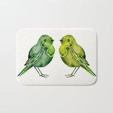 Parakeets Bath Mat