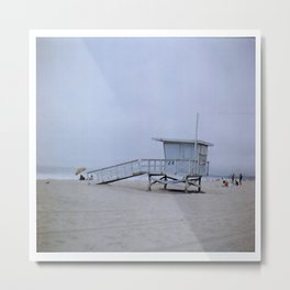 Santa Monica Film 120mm Metal Print