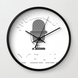 Journalist Of The Year Journalism Writer Author Gift Wall Clock