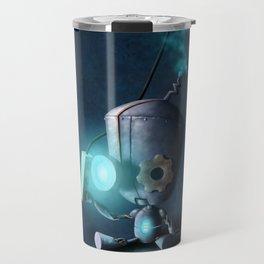 Glow Robot Travel Mug