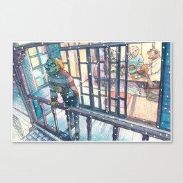 Cold In Yokohama #08 Canvas Print
