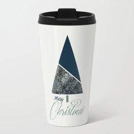 Blue Xmas #society6 #blue #xmas Travel Mug