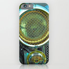 Vintage Headlamp iPhone Case