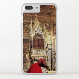 La Plegaria de la Santa Sangre Clear iPhone Case
