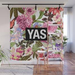 YAS Wall Mural