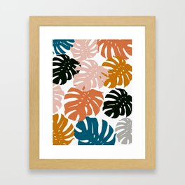 Tropical plant XIV Framed Art Print