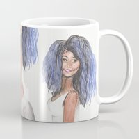doll Mugs featuring Doll by Marie Pascale L