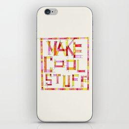 Make Cool Stuff iPhone Skin