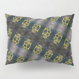 Brass Knuckles Pattern Pillow Sham