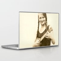 ursula Laptop & iPad Skins featuring Ursula by Julia Kathryn