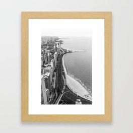 Lakeshore Drive Framed Art Print