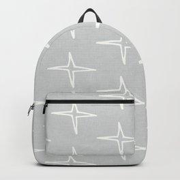 Nautical Star Grey  #homedecor Backpack