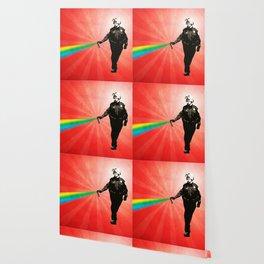 Pepper Spray Cop Rainbow - Pop Art Wallpaper