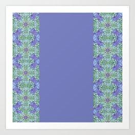 granny quilt Art Print