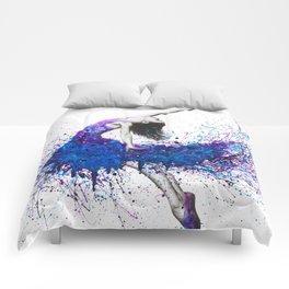 Evening Sky Dancer Comforters