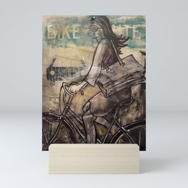 Bike Lane Handbag Mini Art Print