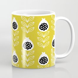 Musterd fig flower blossom summer pattern Coffee Mug
