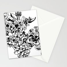 Cabbage Roses Stationery Cards