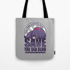 Save The Sea Slug Tote Bag
