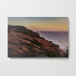 Centerville Beach at sunset Metal Print