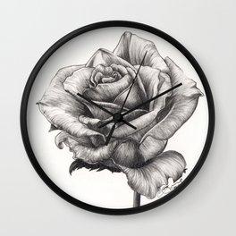 Marilyn Monroe tea Rose Wall Clock